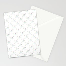 lovely curls Stationery Cards