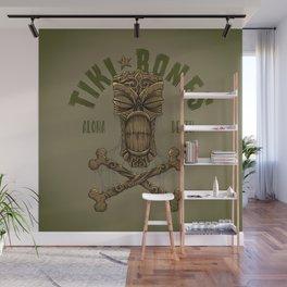 Tiki Bones Wall Mural