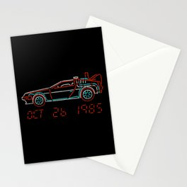 You Built a Time Machine...Out of a DeLorean? Stationery Cards