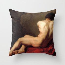 Patroclus by Jacques-Louis David Throw Pillow