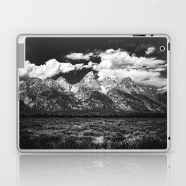 Mountain Summer Escape - Black and White Tetons Laptop & iPad Skin