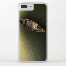 Toward the Golden Sun Clear iPhone Case