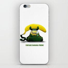 ORGANIC INVENTIONS SERIES: Vintage Banana Phone iPhone Skin