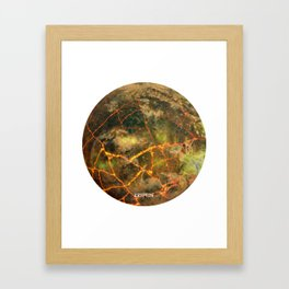 Krypton - Kryptonian Home World Framed Art Print
