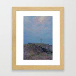 Peggy's Cove (1) Framed Art Print