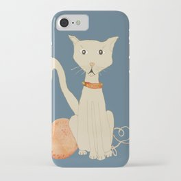 yo tambien hice un gato  ( I  made a cat , too) iPhone Case