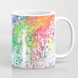 Rainbow Paint Splatter V2 Coffee Mug