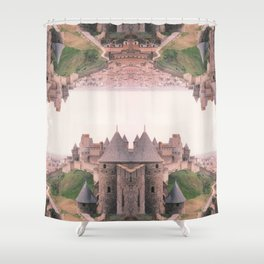 Chateau Photographic Pattern #1 Shower Curtain