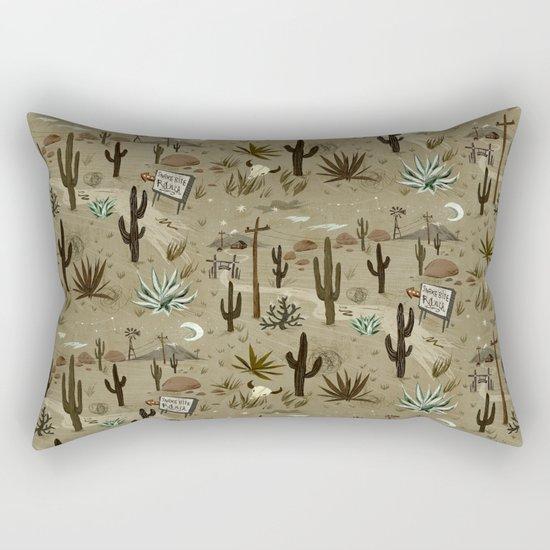 Snakebite Ranch Rectangular Pillow by Christiane Engel : Society6