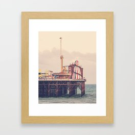 Brighton Palace Pier Framed Art Print