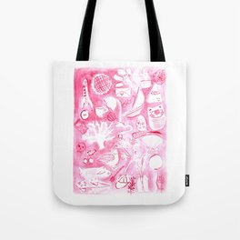 Everyday red Tote Bag