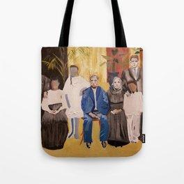 The Faces are Familiar Tote Bag