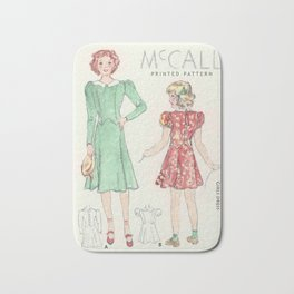 Retro Chic Bath Mat