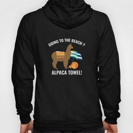 Alpaca Towel Hoody