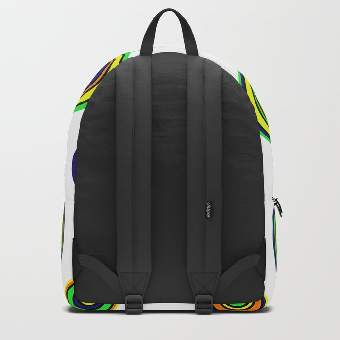 Circles of color Backpack