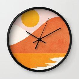 Abstraction_SEASIDE Wall Clock