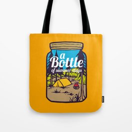 A Bottle of Happyness Tote Bag