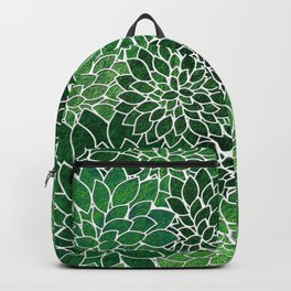 Floral Abstract 23 Backpack
