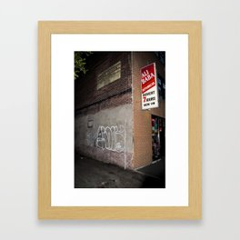 Ali Baba Dep Framed Art Print