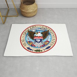 Seal For Anglers of the USA Rug