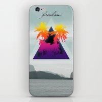 freedom iPhone & iPod Skins featuring freedom by mark ashkenazi