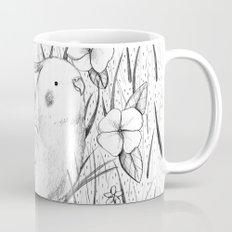 Cockatiel in Grass Mug