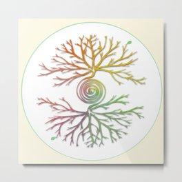 Tree of Life in Balance Metal Print