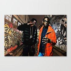 Wiz & Tempah Canvas Print