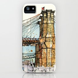 Brooklyn Bridge, New York iPhone Case