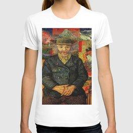 Van Gogh, Portrait of Père Tanguy  – Van Gogh,Vincent Van Gogh,impressionist,post-impressionism,brus T-shirt