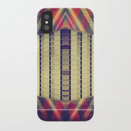 Argyle Turnstile iPhone Case