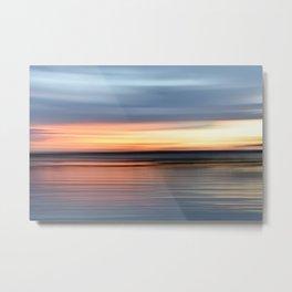 abstract sunset Metal Print
