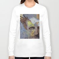 poe Long Sleeve T-shirts featuring Poe by Michael Creese