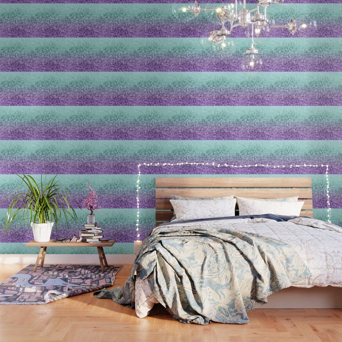 Mermaid Girls Glitter #9 #shiny #decor #art #society6 Wallpaper