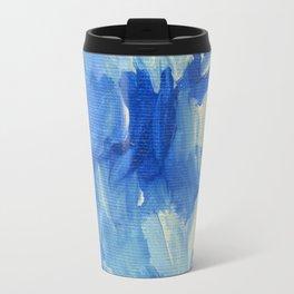 Bluejay Abstract Travel Mug