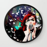 transistor Wall Clocks featuring Transistor - Before We All Become One… by Danielle Tanimura