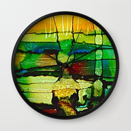 Underwater Impressions Wall Clock