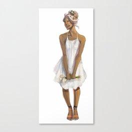Flower Crowned | Allura Canvas Print