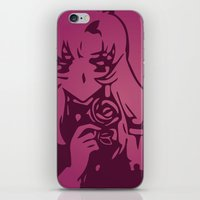 utena iPhone & iPod Skins featuring Take My Revolution by Dani Pinto