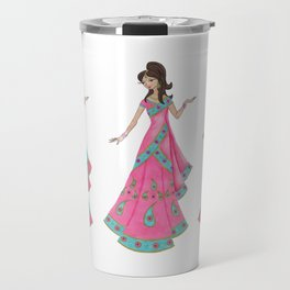 Indian Women Dancing Travel Mug