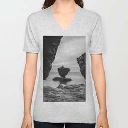 The Tea cup rock of Thunder Cove Unisex V-Neck