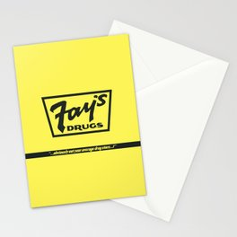 Fay's Drugs | the Immortal Yellow Bag Stationery Cards