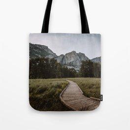 YOSEMITE PATH Tote Bag
