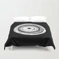 psychology Duvet Covers featuring MHANDALA by THE USUAL DESIGNERS