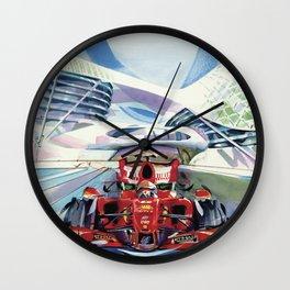 Formula One Series Wall Clock