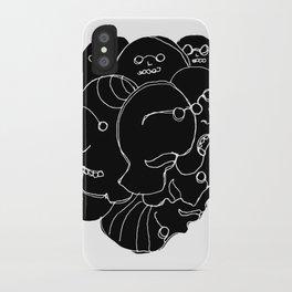 Heads N°9 iPhone Case