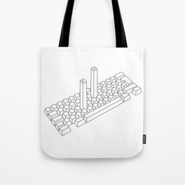 Bold Type Tote Bag