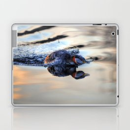 Grebe Torpedo - Red-necked Grebe Laptop & iPad Skin