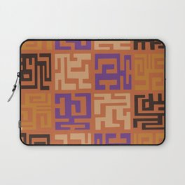 African Tribal Pattern No. 45 Laptop Sleeve