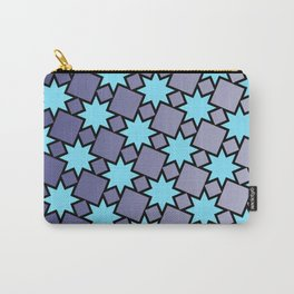 Eight Point Stars Carry-All Pouch